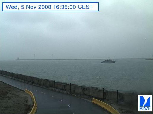 Photos en direct du port de Zeebrugge (webcam) Zeebru18