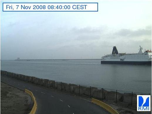 Photos en direct du port de Zeebrugge (webcam) Zeebru21