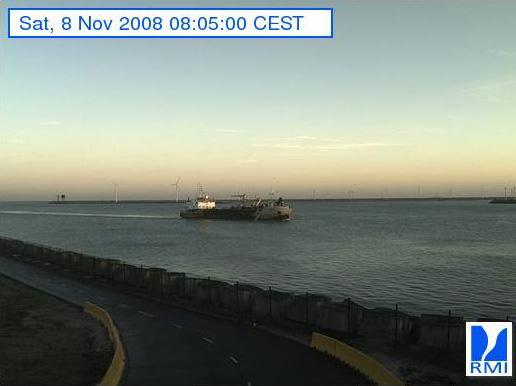 Photos en direct du port de Zeebrugge (webcam) Zeebru22