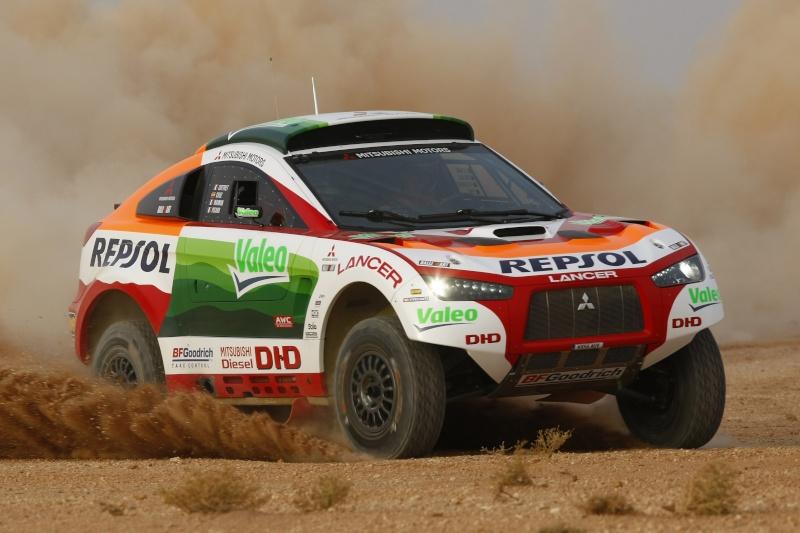 MITSUBISHI RACING LANCER DIESEL DAKAR 2009 08147010