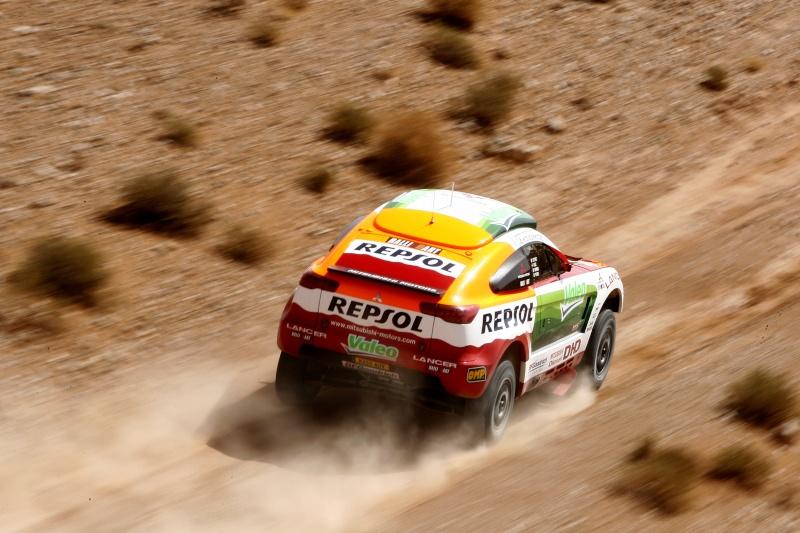MITSUBISHI RACING LANCER DIESEL DAKAR 2009 08147110