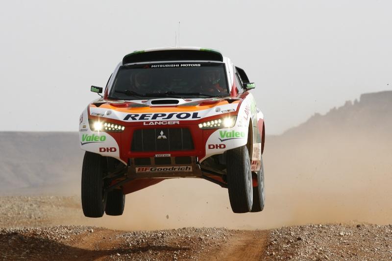 MITSUBISHI RACING LANCER DIESEL DAKAR 2009 08147310