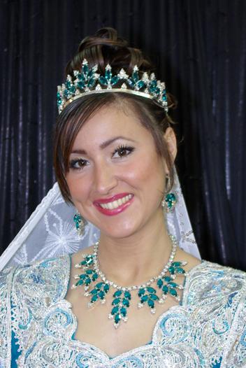 ازياء العروس الجزائرية 1112