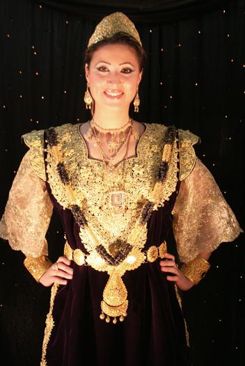 ازياء العروس الجزائرية 1511
