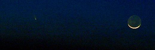 Comment observer Panstarrs, la comète visible à l'œil nu Cometu10