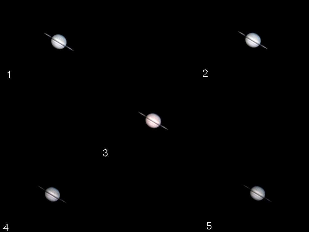 Saturne (très belle) et mini time lapse levé de Lune... Saturr10