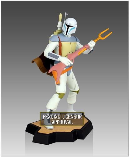 Gentle Giant Holiday Special Animated Boba Fett Maquette  Boba_h10
