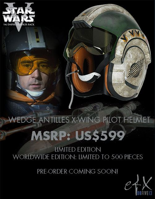 Efx - Wedge Antilles X-Wing Pilot  Helmet Wedge_10