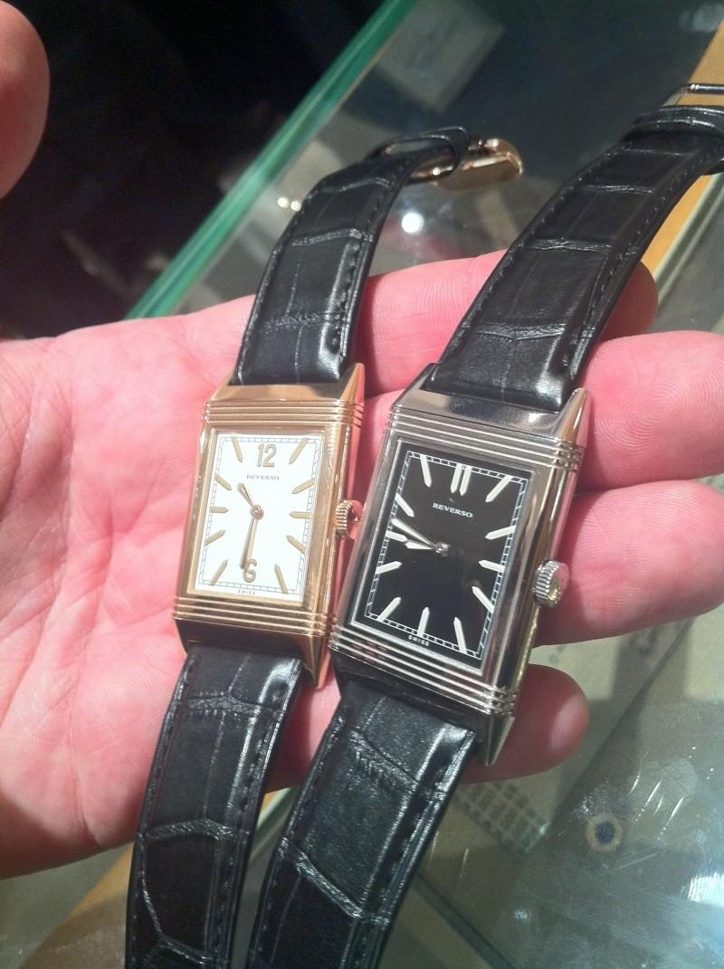Présentation Reverso Tribute 1931 - Boutique JLC Paris Img_0212