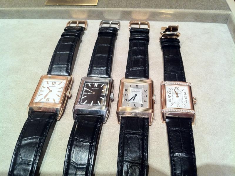 Présentation Reverso Tribute 1931 - Boutique JLC Paris Img_0213