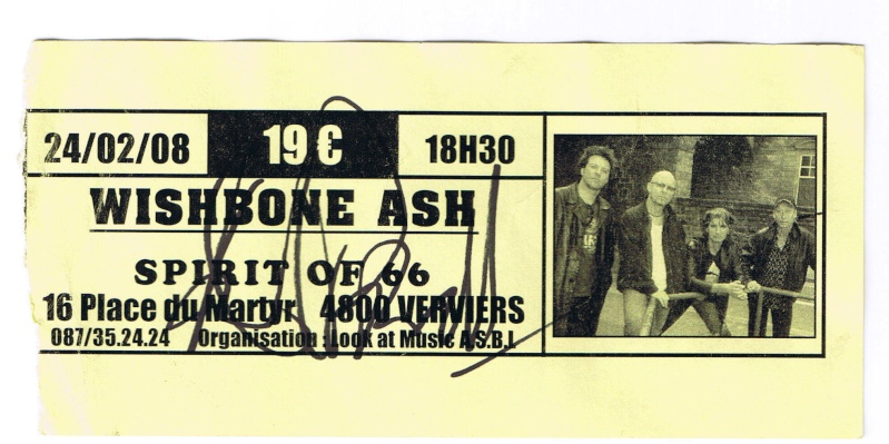 Vous avez encore vos vieux tickets de concerts du Ash ? Ticket10