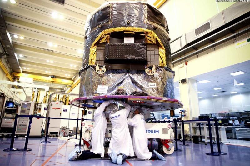 Le satellite européen Gaïa (lancement en 2013) Gaia410