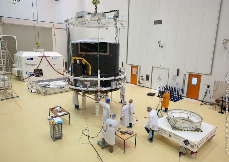 Le satellite européen Gaïa (lancement en 2013) Gaia510