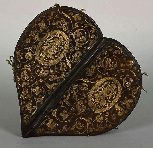 [manuscrits] forme de Coeur et Fleur de Lys  Dre07110