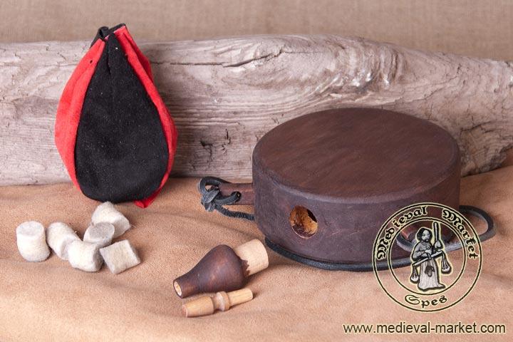 [objet] boîte à poudre en bois Powder12