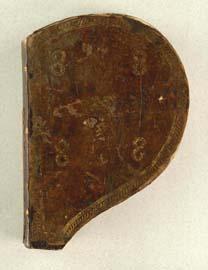[manuscrits] forme de Coeur et Fleur de Lys  Thott_11
