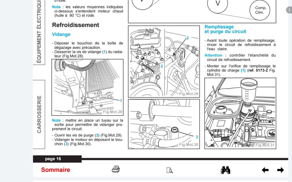 Vidange du liquide de refroidissement - Page 3 Screen11