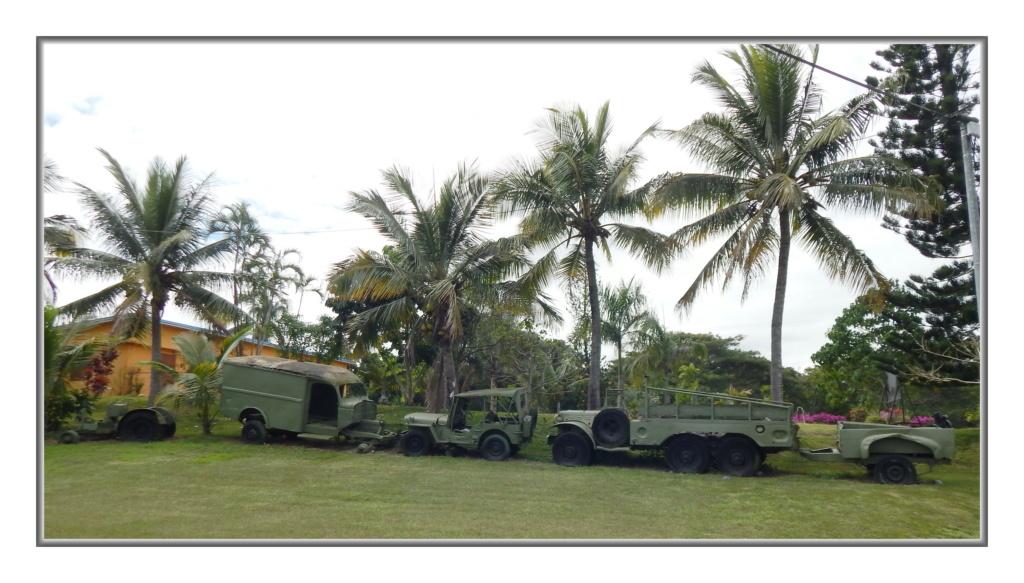 Quelques véhicules Américains  (d'époque ?) en N-C Dscn4110