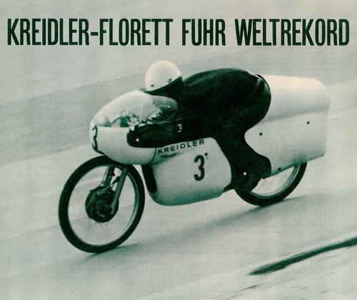 Kreidler-Florett fuhr Weltrekord! Kreidl10