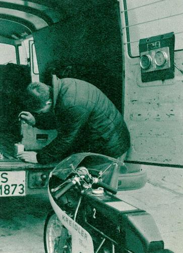 Kreidler-Florett fuhr Weltrekord! Kreidl12