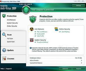 العملاق Kasperskay Anti-virus version .0.129 Kasper10