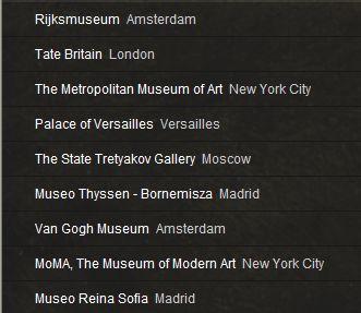 GOOGLE ART PROJECT : Palais de Versailles et autres grands musées Captu123
