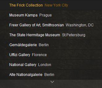 GOOGLE ART PROJECT : Palais de Versailles et autres grands musées Captu125