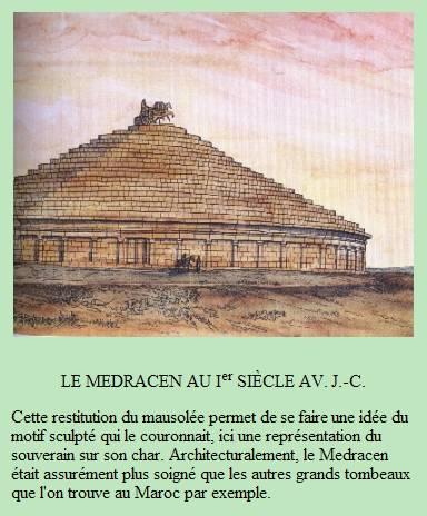 Le Medracen - Mausolée royal en Algérie. Captur18