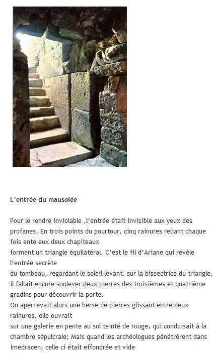 Le Medracen - Mausolée royal en Algérie. Captur21