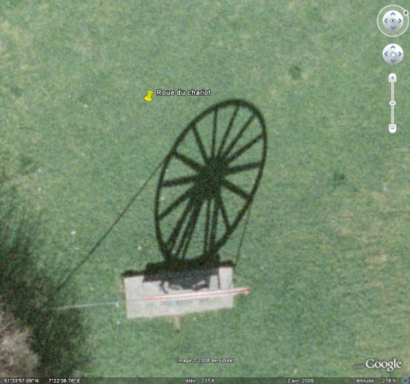 Les objets familiers vus sur Google Earth : écrous - tapis - planche... & caetera - Page 4 Chario10