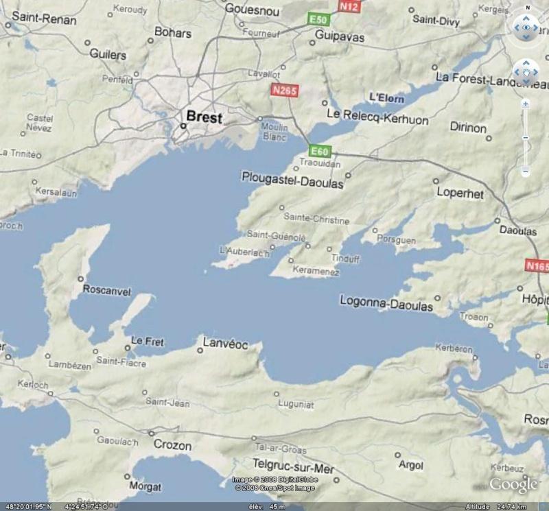 SUPER OVERLAY CARTOGRAPHIQUE sur GOOGLE EARTH Google10