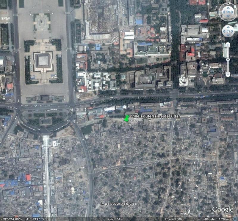 Ville souterraine de Xidan - Pekin - Chine. Pek10