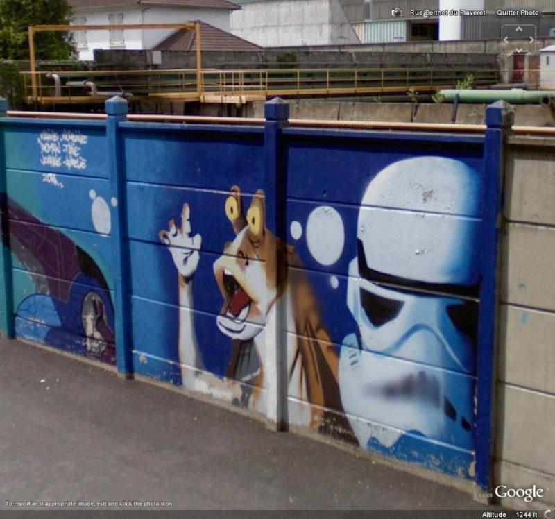 STREET VIEW : les graffitis vus de la Google Car Star0210