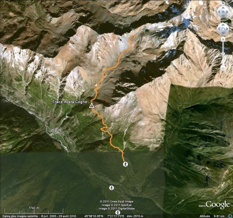 Comment naviguer en gardant la même élevation par rapport à l'altitude ? [Problème Google Earth résolu] Tr110