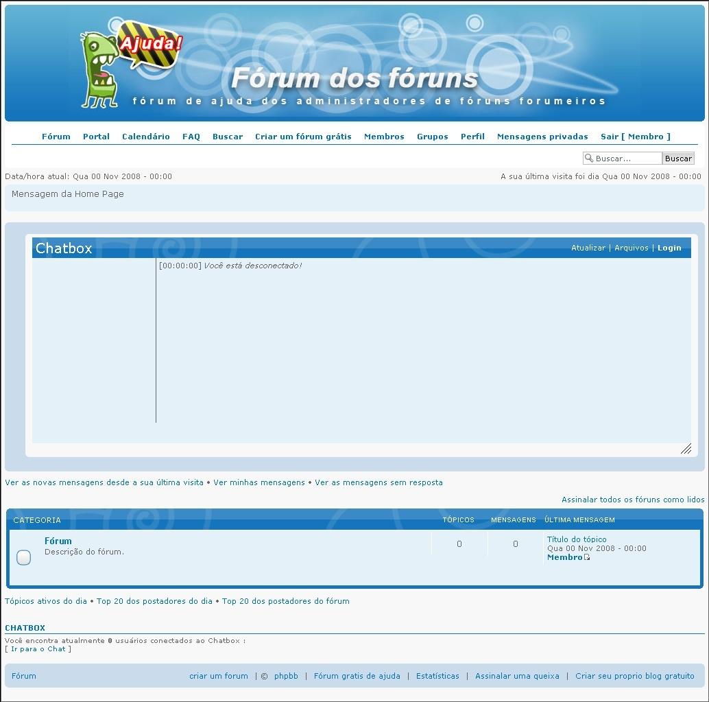 [FAQ] Adicionar ChatBox no Fórum 1512