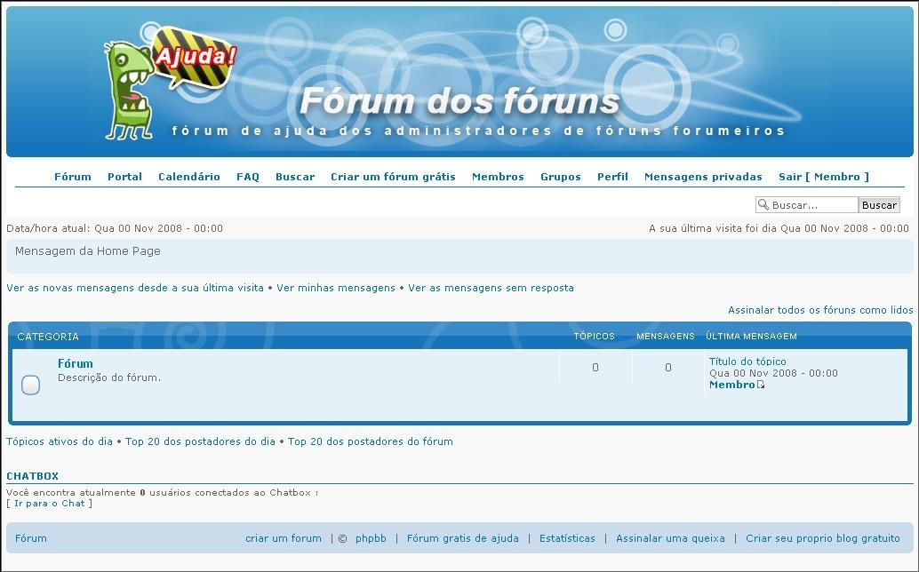 [FAQ] Adicionar ChatBox no Fórum 1713