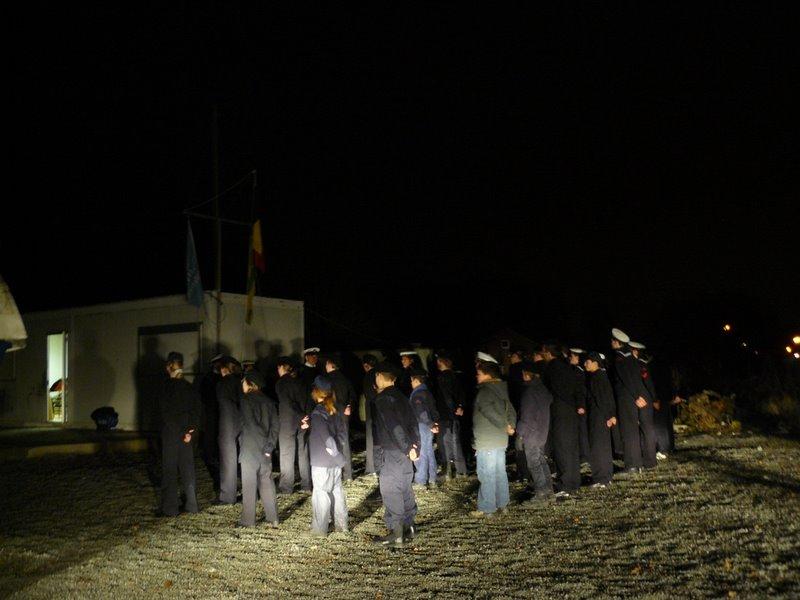Parade aux couleurs dans le noir (Ittre) Cadets10