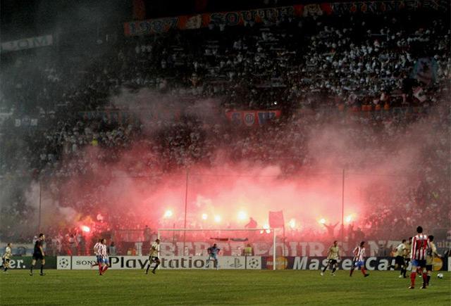 LDC: Marseille - Atletico Madrid 0211