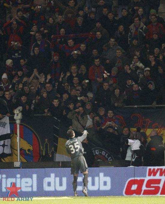 UEFA: Nancy - CSKA Moscou Cska0111