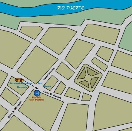 La enigmática casa de doña Arcadia. Mapa10