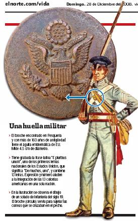 Reliquia de la guerra México-EUA (1846-1848) Unifor10