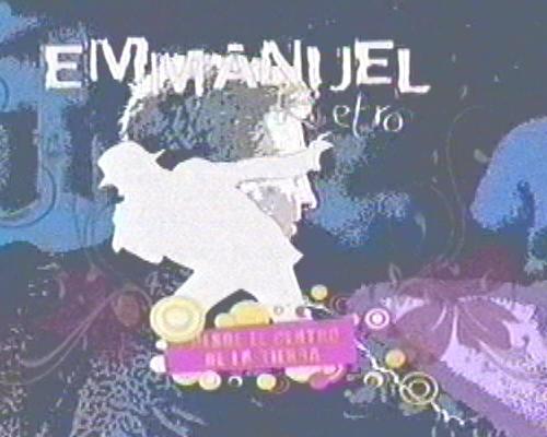 Emmanuel 18 deOctubre Canal 2 de Mèxico .Video Incluìdo. Emmade10