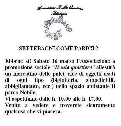 ASSOCIAZIONE IL MIO QUARTIERE Mercat10