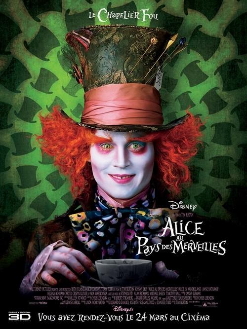 Alice au pays des merveilles Affich10