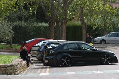 Les voitures présentes avant l'annulation...