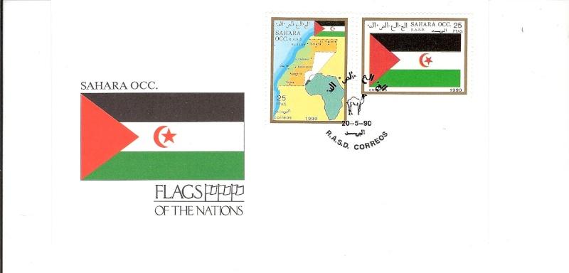 Timbres du sahara occidental Scanne38