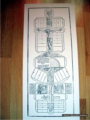 Baubericht: Ältester bekannter Kartonmodellbogen Bild11