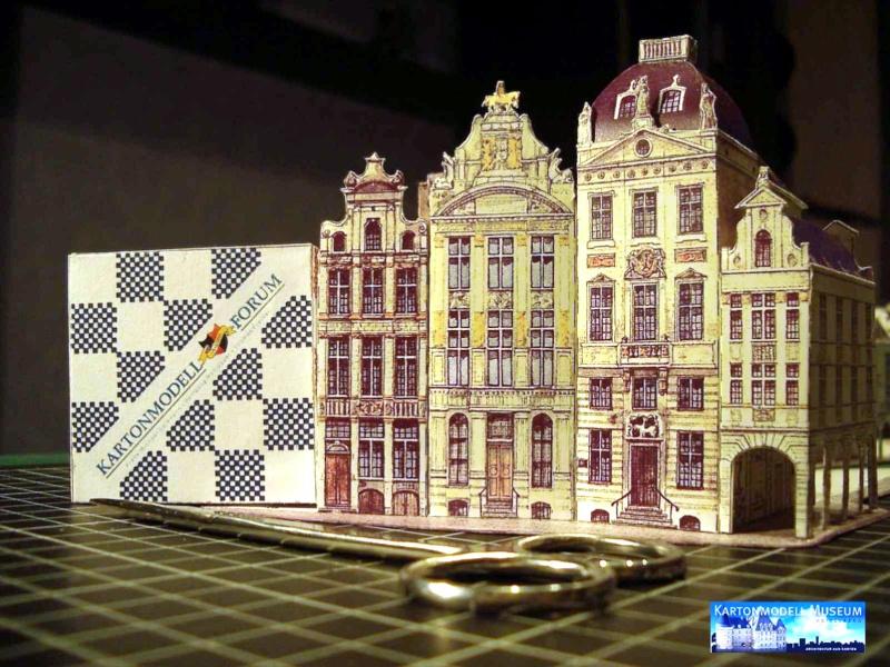 Brüssler Marktplatz von MaKiT im Maßstab 1:160 skaliert Bild4211
