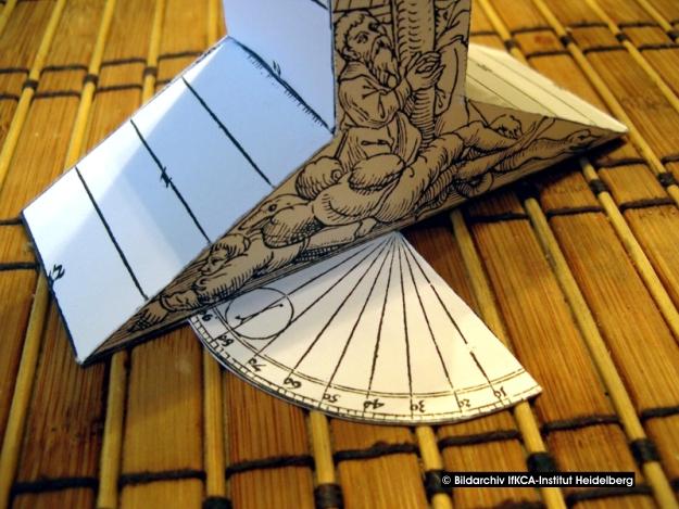 Baubericht: Ältester bekannter Kartonmodellbogen Bild_213