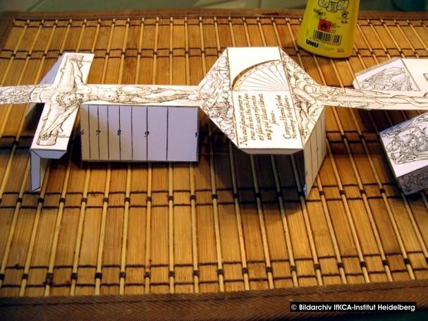 Baubericht: Ältester bekannter Kartonmodellbogen Bild_710